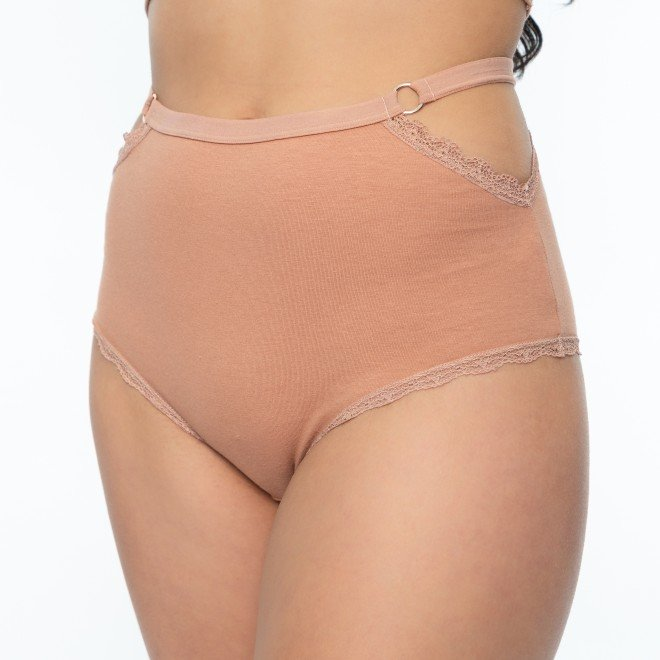 Calcinha Hot Pant Confort  De Cotton